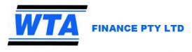 WTA Finance Logo